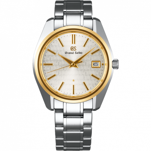 Grand Seiko SBGV238 : Quartz Date Stainless Steel / Yellow Gold / Caliber 9F 25th Anniversary Limited Edition