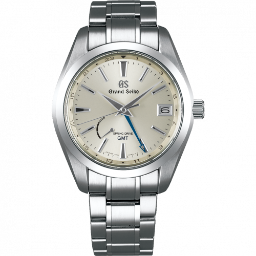 Grand Seiko SBGE205 : Spring Drive GMT Stainless Steel / Silver / Bracelet