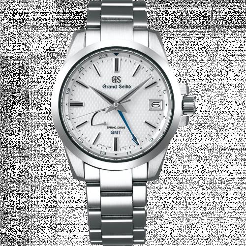SBGE209 : Grand Seiko Spring Drive GMT Stainless Steel / White / Bracelet