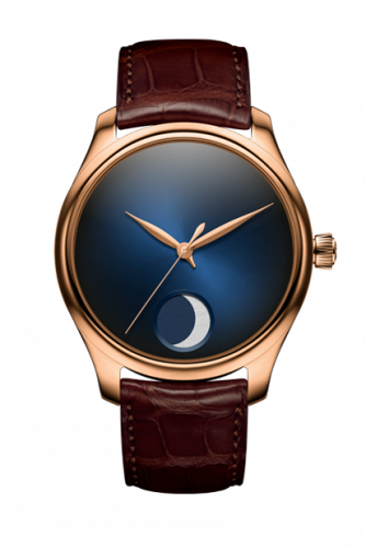 1801-0400 : H. Moser & Cie Endeavour Perpetual Moon Red Gold / Midnight Blue Concept