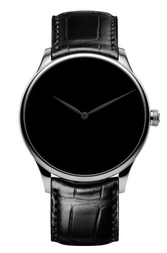 2327-0222 : H. Moser & Cie Venturer White Gold / Vantablack Concept Black Hands