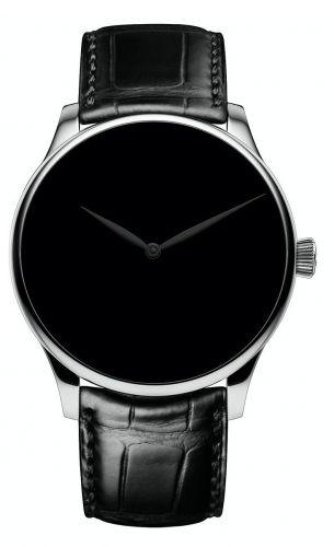 H. Moser & Cie 2327-1213 : Venturer XL Stainless Steel / Vantablack Concept Black Hands