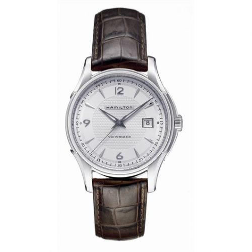 Hamilton H32515555 : Jazzmaster Viewmatic 40mm Silver Dial