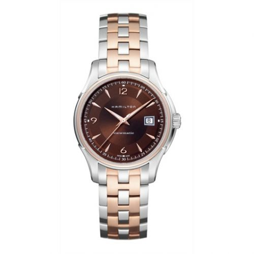 Hamilton H32655195 : Jazzmaster Viewmatic 40mm Brown Dial Two Tone
