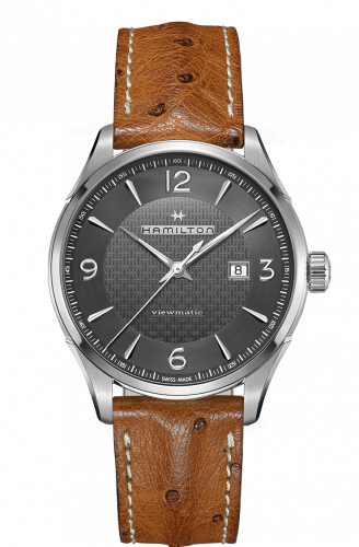 H32755851 : Hamilton Jazzmaster Viewmatic Automatic Steel / Grey