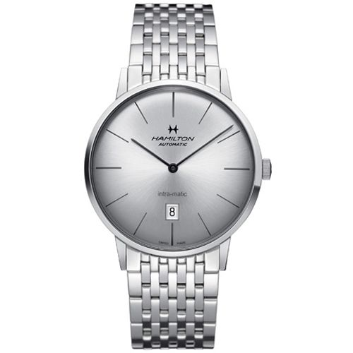 H38755151 : Hamilton Intra-Matic 42 Stainless Steel / Silver / Bracelet