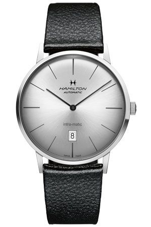H38755751 : Hamilton Intra-Matic 42 Stainless Steel / Silver / Strap