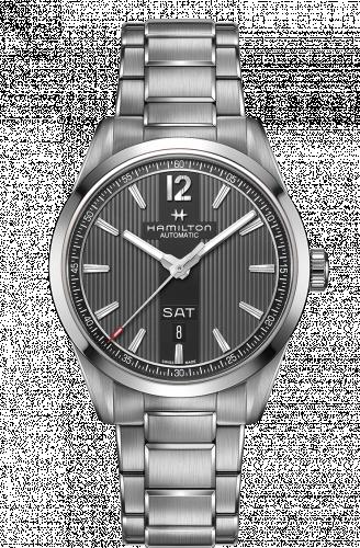 Hamilton H43515135 : Broadway Day Date Automatic Steel / Grey / Bracelet