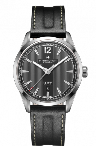 H43515735 : Hamilton Broadway Day Date Automatic Steel / Grey