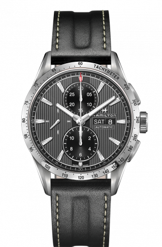 H43516731 : Hamilton Broadway Automatic Chronograph Steel / Grey