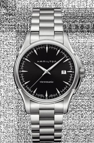 Hamilton H32665131 : Jazzmaster Viewmatic 40mm Black / Bracelet