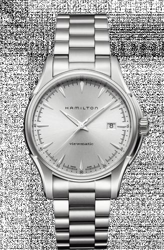 Hamilton H32665151 : Jazzmaster Viewmatic 40mm Silver / Bracelet