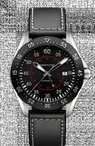 Hamilton H76755735 : Khaki Pilot GMT Automatic