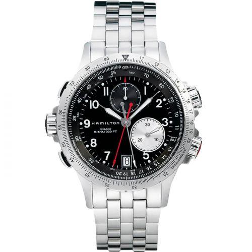 Hamilton H77612133 : Khaki Aviation ETO Black / Bracelet