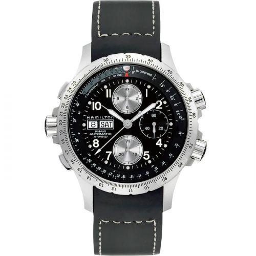 Hamilton H77616333 : Khaki Aviation X-Wind Black