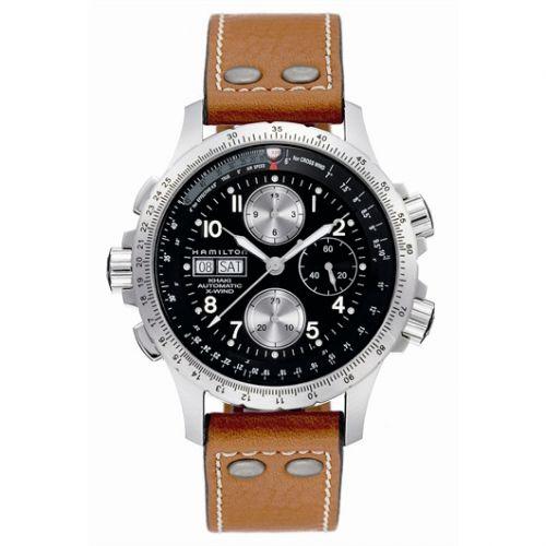 Hamilton H77616533 : Khaki Aviation X-Wind Black