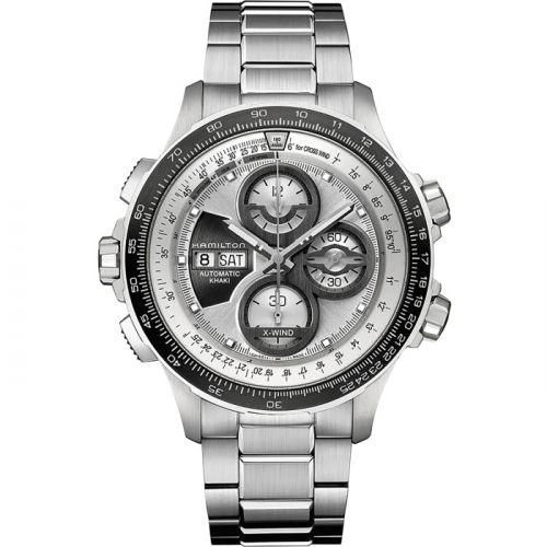 Hamilton H77726151 : Khaki Aviation X-Wind Automatic Silver / Bracelet