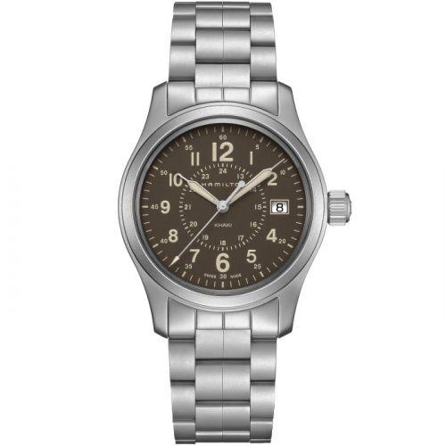 Hamilton H68201193 : Khaki Field Quartz 38 Stainless Steel / Brown / Bracelet