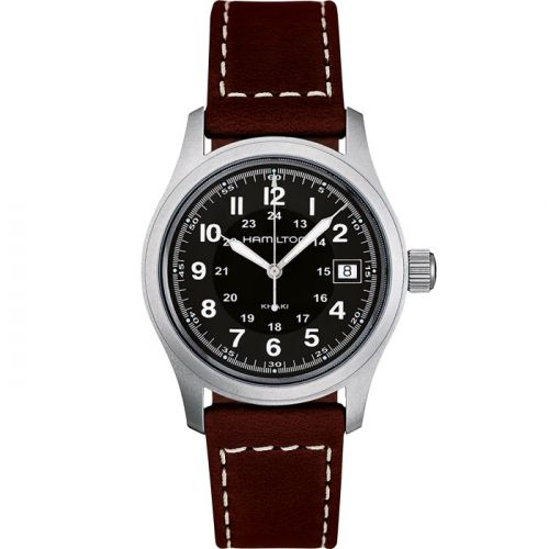 Hamilton H68411533 : Khaki Field Quartz 38 Stainless Steel / Black
