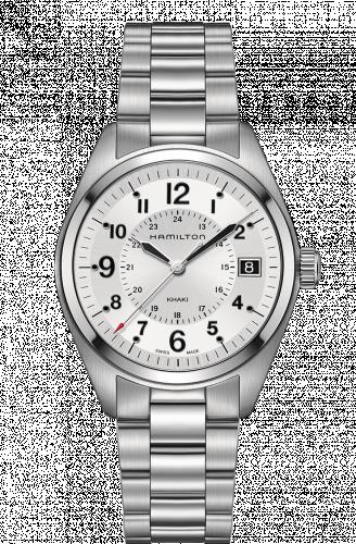 Hamilton H68551153 : Khaki Field Quartz Steel / Silver / Bracelet