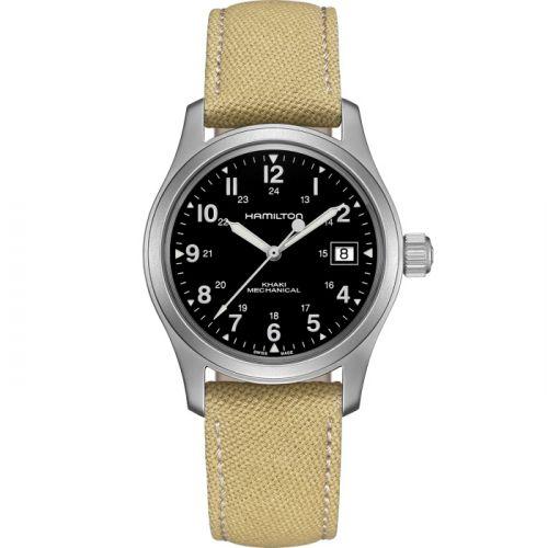 Hamilton H69439933 : Khaki Field Mechanical 38 Date Black
