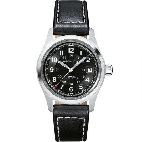 Hamilton H70455733 : Khaki Field Automatic 38 Stainless Steel / Black