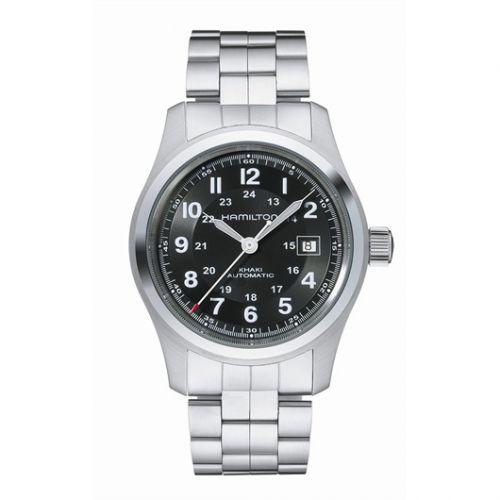 H70515137 : Hamilton Khaki Field Automatic Stainless Steel / Black / Bracelet