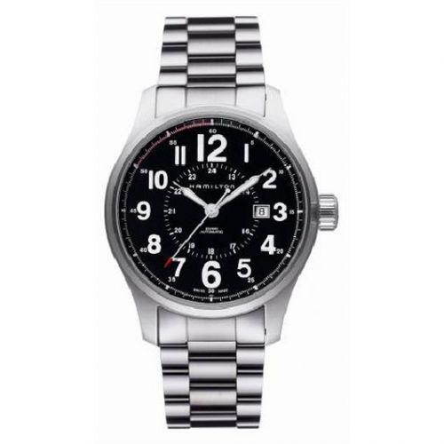 Hamilton H70615133 : Khaki Field Officer Automatic 44