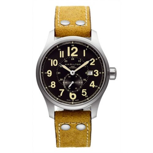 Hamilton H70655733 : Khaki Field Officer Automatic 44