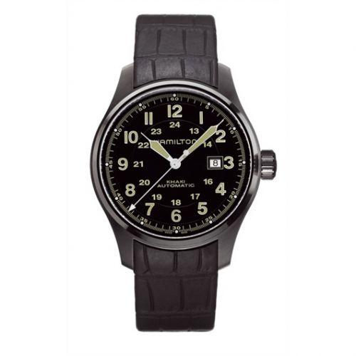 Hamilton H70685333 : Khaki Field Officer Automatic 44