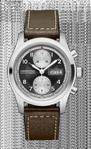 Hamilton H71566583 : Khaki Field Automatic Chronograph 42