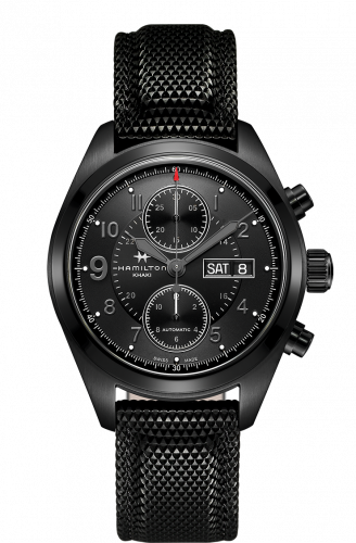 Hamilton H71626735 : Khaki Field Automatic Chronograph PVD / Black