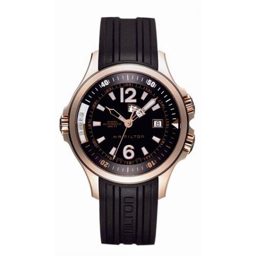 Hamilton H77545735 : Khaki Navy GMT