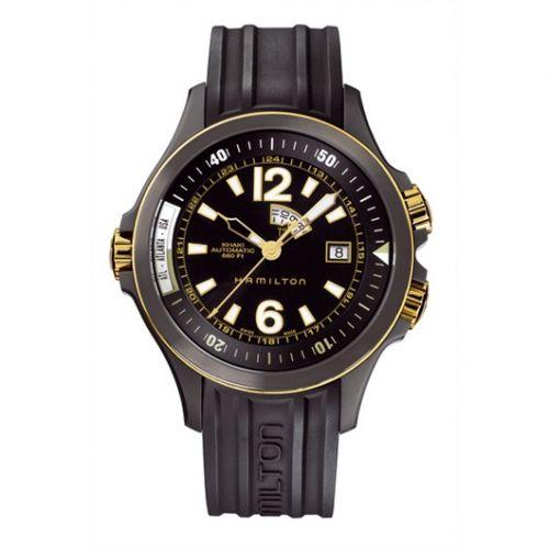 Hamilton H77575335 : Khaki Navy GMT