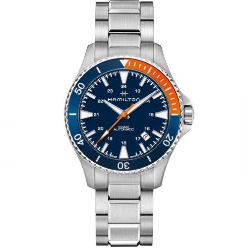 Hamilton H82365141 : Khaki Navy Scuba Auto Stainless Steel / Blue / Bracelet