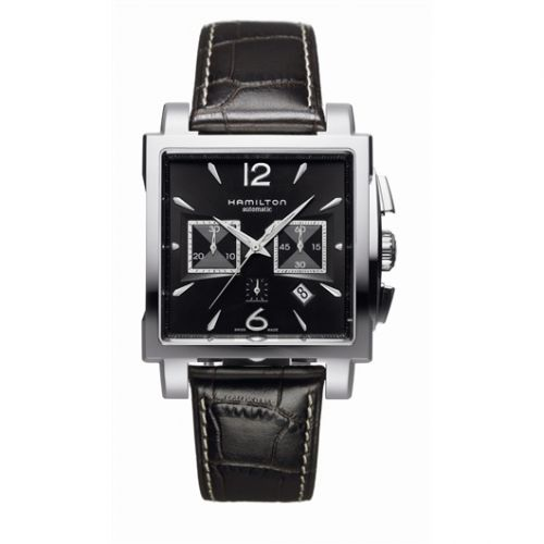 H32666535 : Hamilton Jazzmaster Square Chronograph