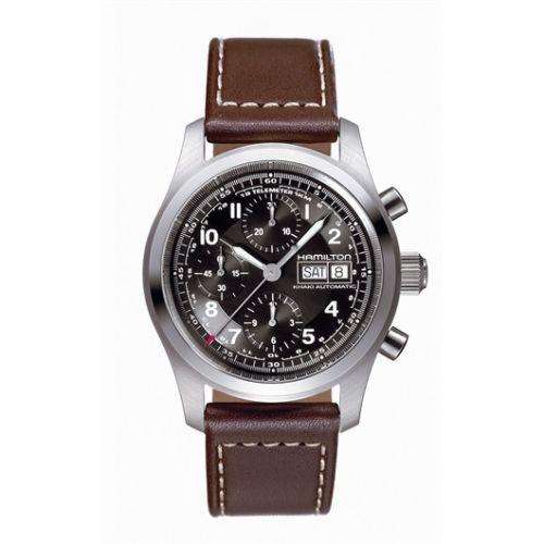 Hamilton H71556537 : Khaki Field Automatic Chronograph 42
