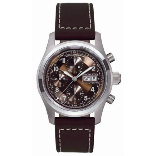 Hamilton H71556593 : Khaki Field Automatic Chronograph 42