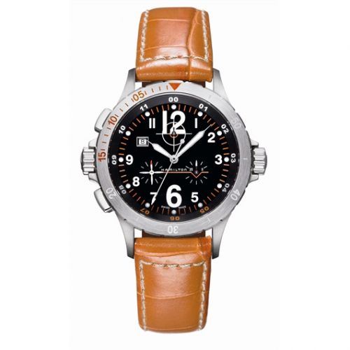 Hamilton H74512833 : Khaki Air Chrono Quartz
