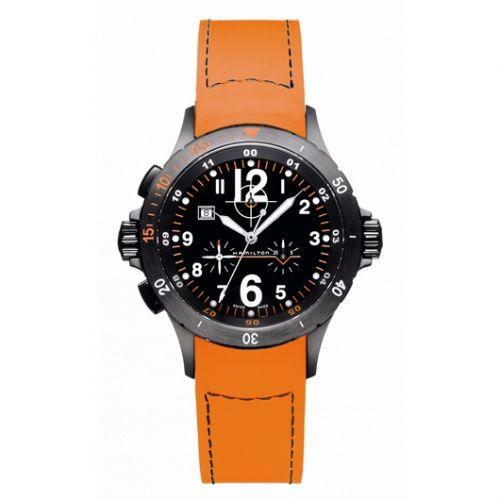 Hamilton H74592433 : Khaki Air Chrono Quartz