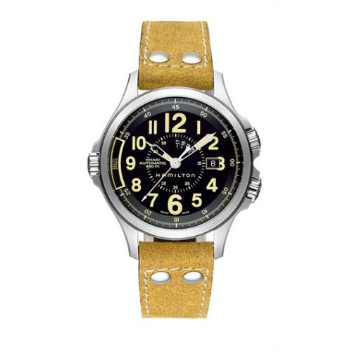 Hamilton H77565833 : Khaki Conservation Automatic GMT