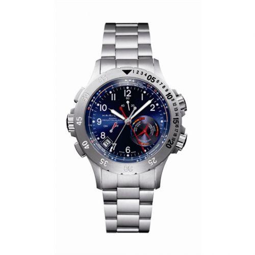 Hamilton H77614143 : Khaki Navy Regatta Alarm