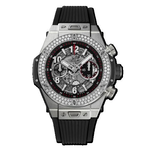Hublot 411.NX.1170.RX.1104 : Big Bang Unico 45 Titanium / Diamonds / Black