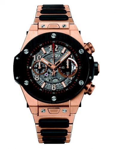 Hublot 411.OM.1180.OM : Big Bang Unico 45 King Gold / Ceramic / Bracelet