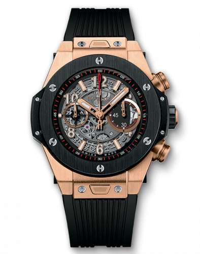 Hublot 411.OM.1180.RX : Big Bang Unico 45 King Gold / Ceramic / Black