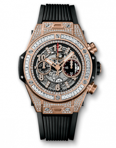 Hublot 411.OX.1180.RX.0904 : Big Bang Unico 45 King Gold / Jewelry / Black