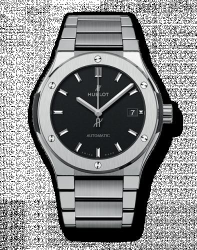 Hublot 510.NX.1170.NX : Classic Fusion 45 Titanium / Black / Bracelet