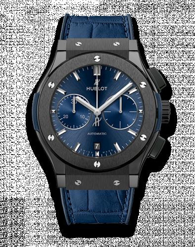 Hublot 521.CM.7170.LR : Classic Fusion 45 Chronograph Ceramic / Blue
