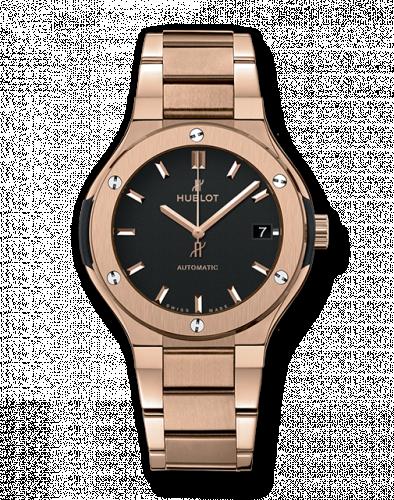 Hublot 568.OX.1180.OX : Classic Fusion 38 King Gold / Black / Bracelet