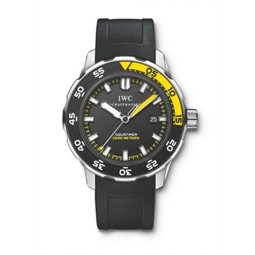 IWC IW3568-02 : Aquatimer 2000 Stainless Steel / Black / Rubber